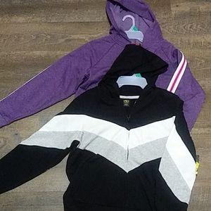 NWT. 2 hooded sweatshirts